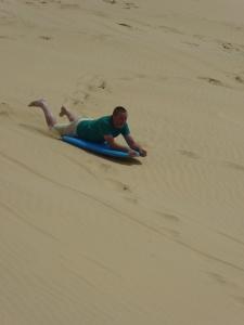 Sandboarding!
