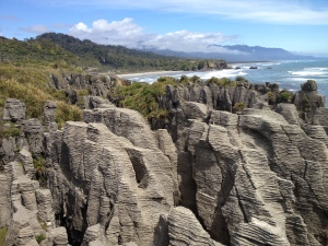 Pancake Rocks and the Punakaiki coastline