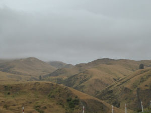 Dramatic scenery south of Blenheim