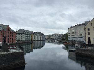 Alesund which I assume looks better in the sunshine