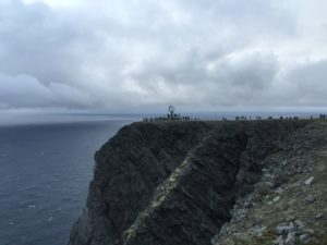 North Cape ...a very cold place!