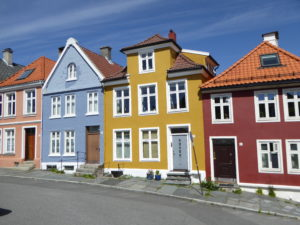 Some colored houses
